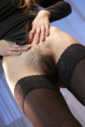 Hairy Women In Stockings Porn