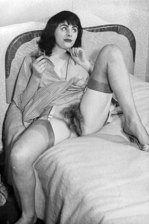 Hairy Vintage Women Porn
