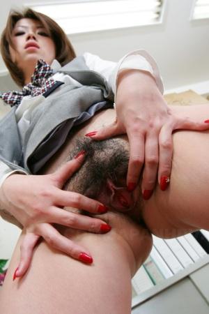 Hairy Women In Office Porn